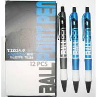 """Ручка шариковая автоматическая """"Techjob"""" TB258 Tizo Harmony (синяя)"""