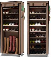 Складной тканевый шкаф для обуви YQF-1190