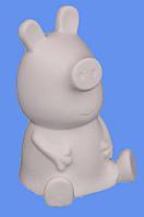 """Гипсовая фигурка для раскрашивания """"Свинка Пеппа"""" с красками и кисточкой"""