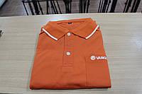Фирменная футболка Vanguard (оранжевая, черная)