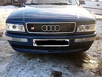 Реснички Audi 80 B3, накладки на фары Ауди 80 Б3