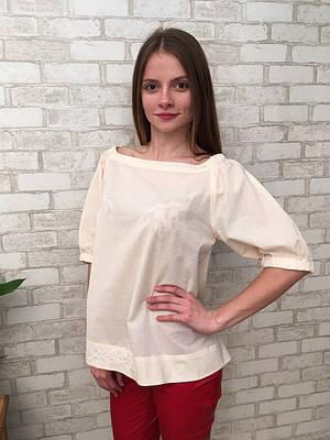 Блуза жіноча з попліну