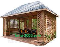 Беседка, домики для дачи, альтантка, беседка для сада, домик с верандой, беседка установка, беседка монтаж, фото 1