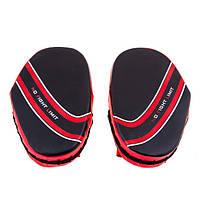 Лапа малая NoFightLimit PVC красно-черная BFL-2. Распродажа!