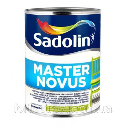 Краска для дерева и металла SADOLIN MASTER NOVUS (Садолин Мастер Новус) 1л - ФОРТИС СТРОЙ в Киевской области