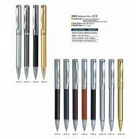 Ручка металлическая поворотная BAIXIN BP919 (золото+серебро)
