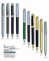 Ручка металлическая поворотная BAIXIN BP937 (золото+серебро)