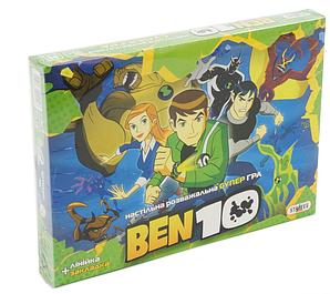 Настольная игра Бен 10 Стратег + код MAS-90