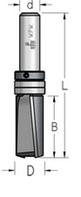 Фреза обгонная аксиальная для работы по шаблону D = 19 мм; В = 51 мм; хвостовик = 12 мм.