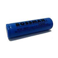 Аккумулятор Li-ion 18650 3,7V Bossman NCM18650-2200