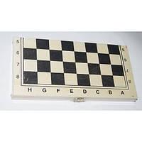 """Игра настольная """"3-В-1"""" (шахматы, шашки, нарды) деревянная коробка 21*21 см."""