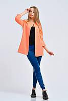 Яркий кардиган Соты оранжевый