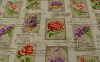 Loneta virágok     почтовые марки