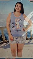 Модная  женская пижама с шортами