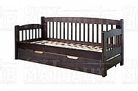 Деревянная кровать «Ретро 7» (подкроватные ящики)