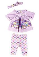 Одежда для куклы Baby Born Бабочка Zapf Creation 823545