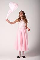 Нарядное платье розового цвета для девочки 8, 10 лет. Платье для девочки на выпускной 4 класс.