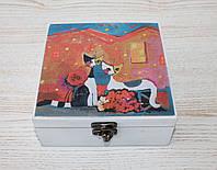 """Шкатулка для украшений """"Влюбленные котики"""" 6121657"""