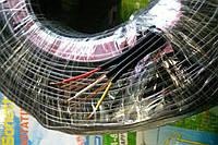 Кабель аудио 3 жилы в экране ССА,плоский, диаметр 2,6х7,8мм, чёрный