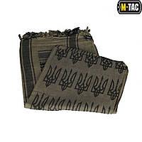 M-Tac шарф шемаг с Тризубом Foliage Green/Black, фото 1