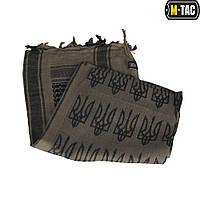 M-Tac шарф шемаг с Тризубом Dark Earth/Black, фото 1