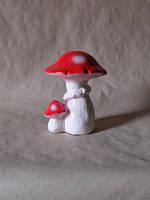 Декоративные грибы для сада, керамические грибочки для декора