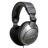 Гарнитура A4Tech HS-800, превосходное качество звука и низких частот, глубокие басы.