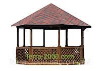 Домик с верандой, беседки, домики под мастерскую, деревянные домики, беседки садовые, летние домики и беседки
