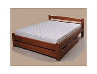 Деревянная кровать «Вега 4» (с подкроватным ящиком)