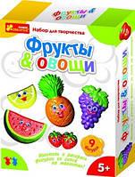 """4004 Гіпс на магнітах """"Овочі,фрукти"""""""