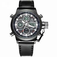 Мужские армейские часы AMST 3003 all black