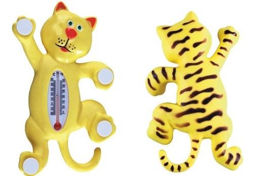 Оконный термометр Кот