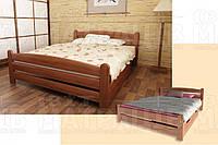 Деревянная кровать «Вега 3» (с подкроватным ящиком)