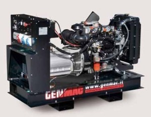 Трехфазный дизельный генератор GENMAC Duplex G17000 LOM (17 кВа)