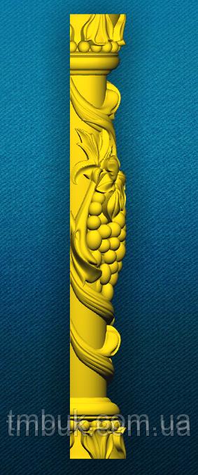 Полуколонна Виноград 1 - 500х100х60 мм