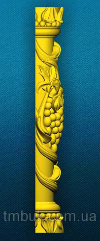 Полуколонна Виноград 1 - 500х100х60 мм, фото 2