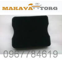 Воздушный фильтр паралоновый(квадрат) для мотокос t434-517,446,447 и мотобуров AG252,243