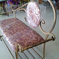 Кованый диван 130 см