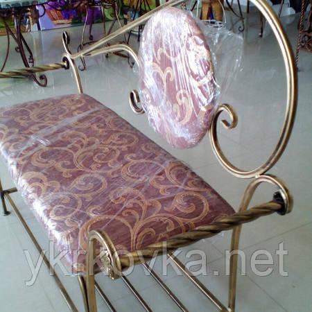 Кованый диван 135 см