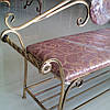 Кованый диван 135 см, фото 3