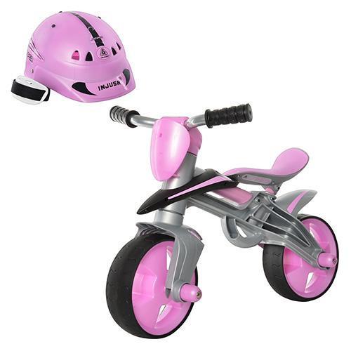 Детский беговел + шлем Injusa Jumper 502 розовый - Шафран в Одесской области
