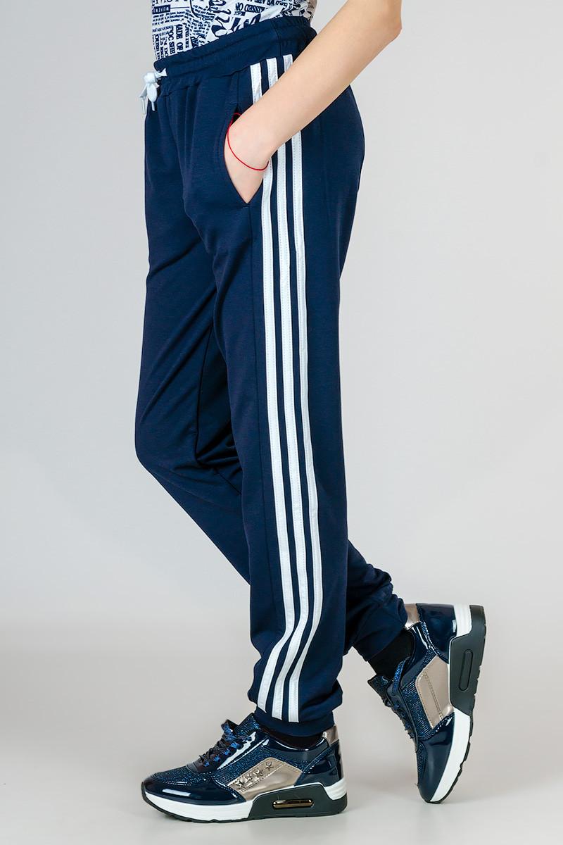 Детские спортивные штаны Classic_темно-синие