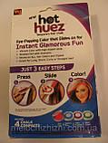 Цветная пудра( мелки) для волос цветные Hot Huez, фото 8