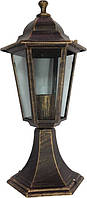 Светильник Lemanso PL6204 античное золото на ножке 100W