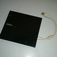 Внешний записывающий DVD-привод  ASUS SDRW-08D1S-U Black б/у