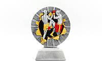Статуэтка (фигурка) наградная спортивная MMA C-4627-B1 (р-р 16х12х4см)
