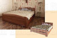 Деревянная кровать «Лира 3» (с подкроватным ящиком)