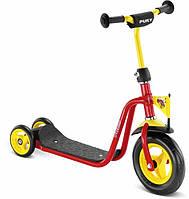 Детский трехколесный самокат Puky R1 red