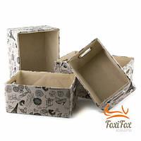 Набор коробок для хранения белья Retro