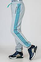 Спортивные штаны на девочку трикотаж